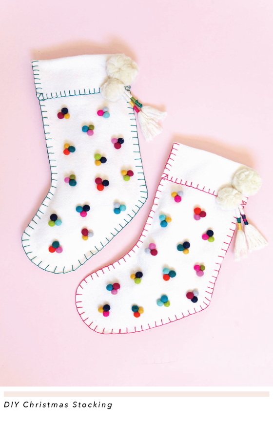 13 Unique Christmas Stockings - Best DIY or to Buy Ideas - DIY Christmas Stocking Ideas, Diy Christmas stocking, Christmas Stockings