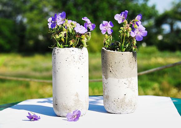 Creative Cement Projects For The Garden - diy Cement Projects For The Garden, diy Cement Projects, Cement
