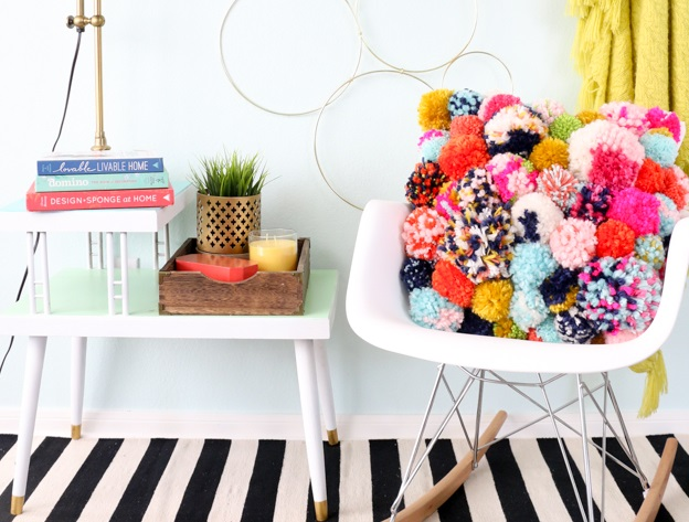 Cozy Pom pom Pillow