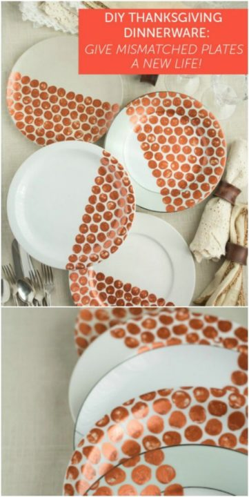 14 Creative DIY Ways To Decorate Your Plates - DIY Ways To Decorate Your Plates, diy plates, DIY Decorate Plates
