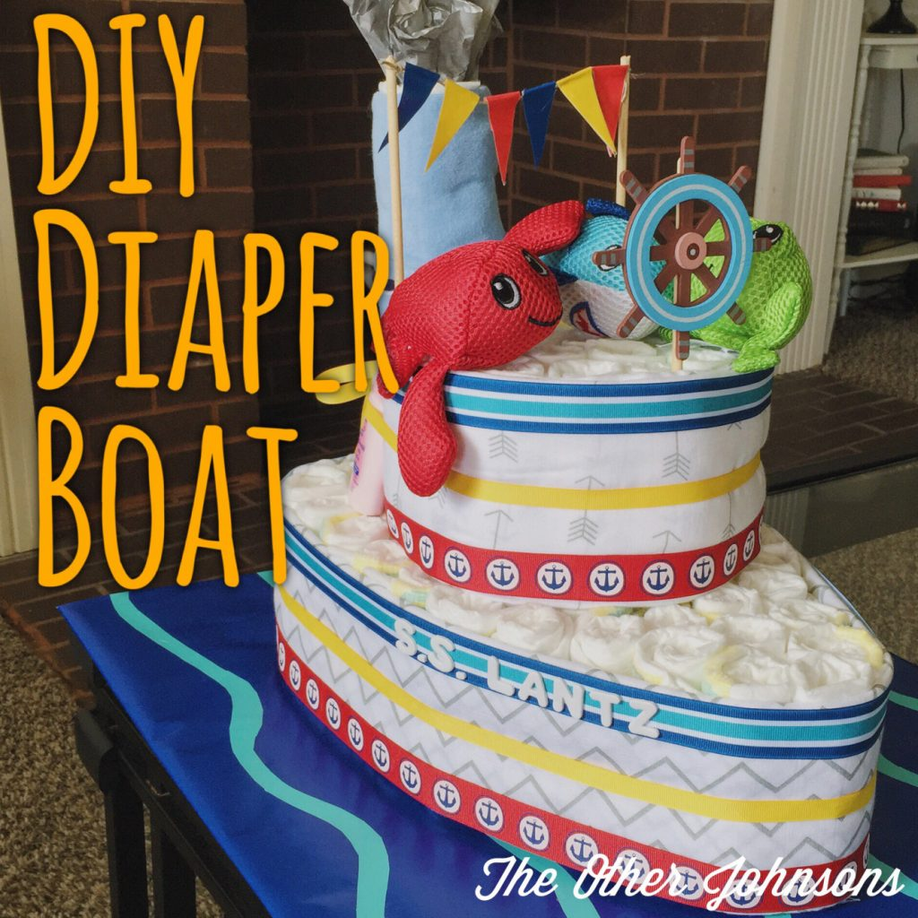 DIY Diaper Boat