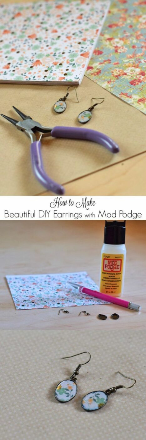 15 Favorite Mod Podge Ideas and Craft Projects (Part 2)