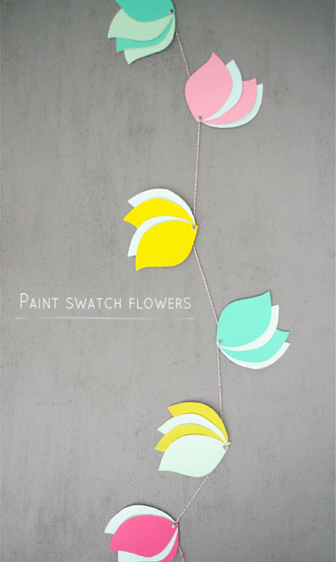 Welcome Spring: 20 Cute Paper Flower Crafts