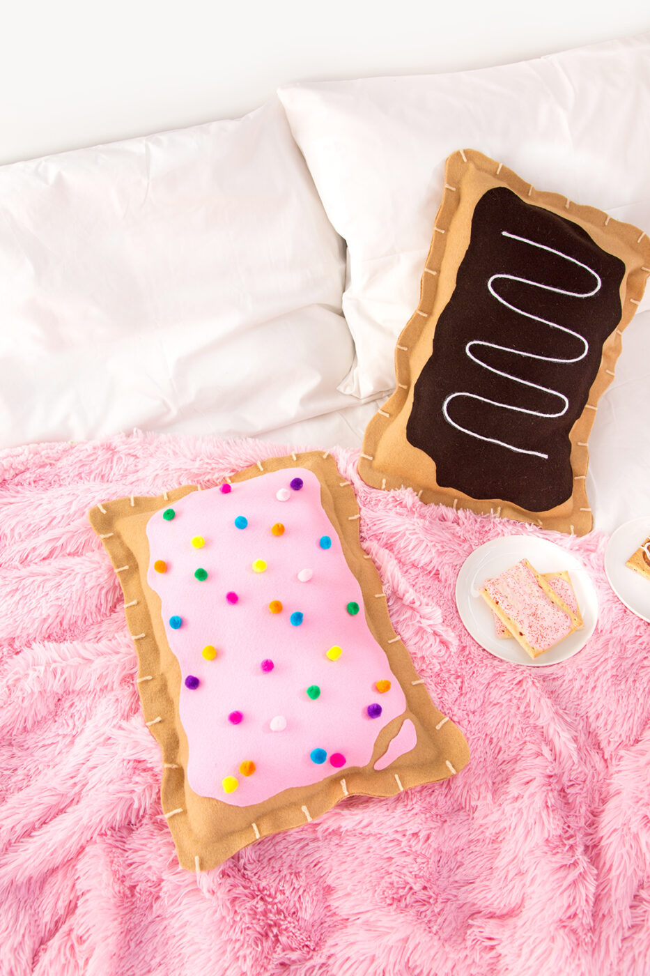 No Sew Pop Tart Pillow