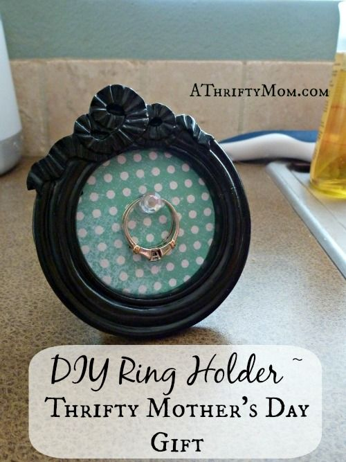 DIY Ring Holder | 25+ Mother's Day Gift Ideas