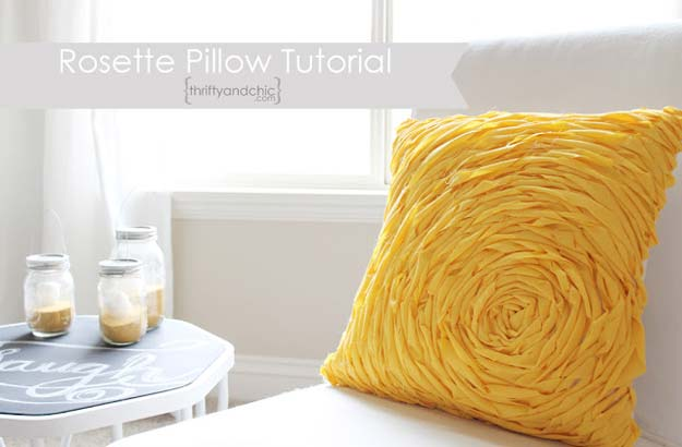 Rosette DIY Pillow
