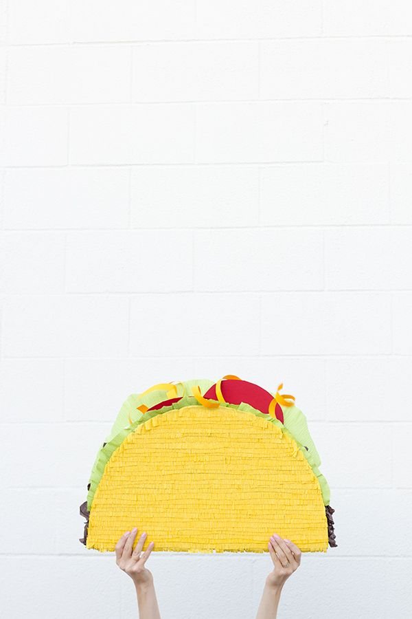 DIY Taco Piñata | 25+ Cinco de Mayo Ideas