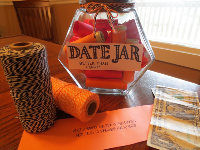 Date Jar | 25+ Sweet Gifts for Him for Valentine's Day