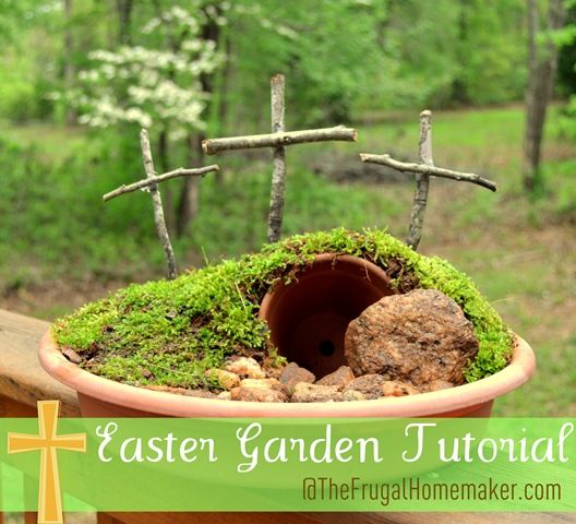Easter Garden Tutorial | 25+ Easter and Spring Decorations