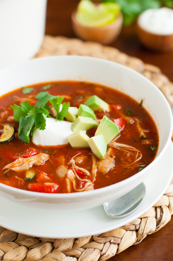 Easy 30 Minute Clean Eating Chicken Tortilla Soup   25+ Savory Instant Pot Recipes