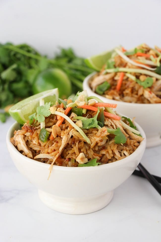 Easy Instant Pot Thai Chicken Rice Bowls | 25+ Savory Instant Pot Recipes
