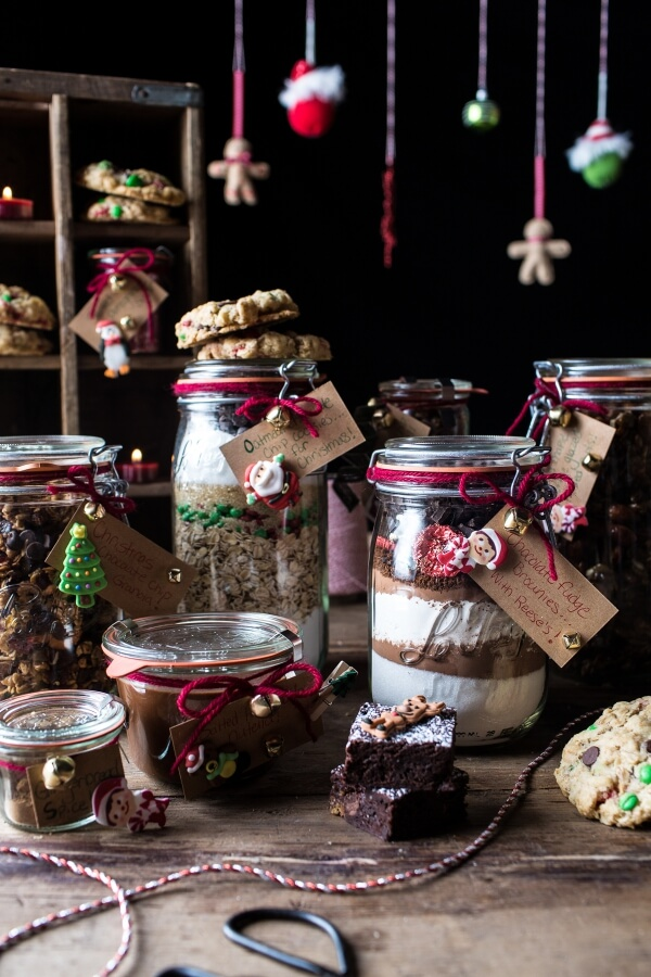 Edible Christmas Gifts in Jars | 25+ Edible Christmas Gifts