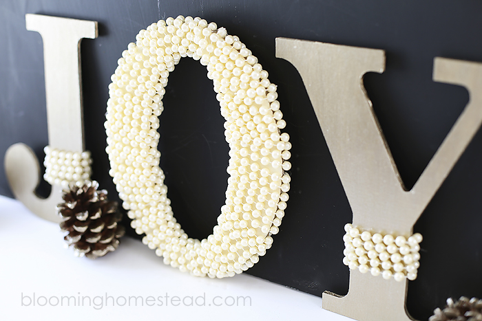 Embellished - DIY Monogram Letters