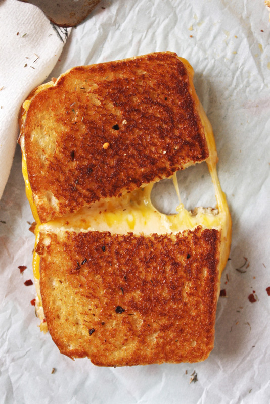 Fancy Schmancy Grilled Cheese | 25+ Grilled Cheese Recipes