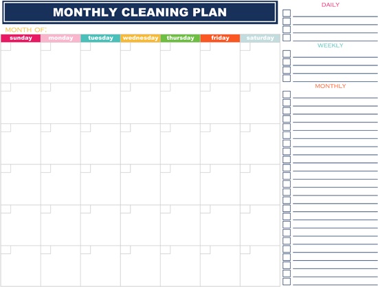 15 Life Changing Organization Printable Ideas