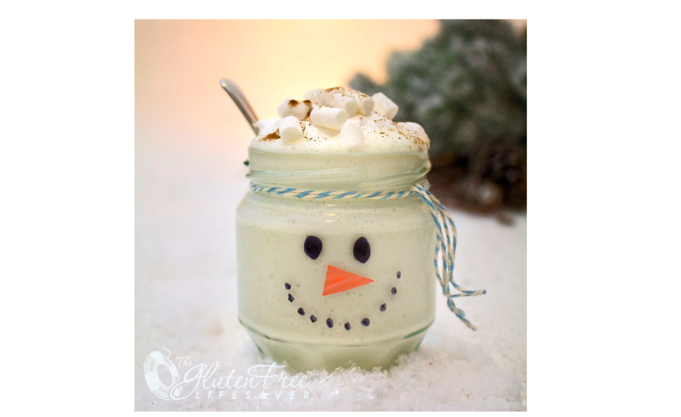 Frosty the snowman christmas smoothie- 25+ snowman crafts and fun food ideas - NoBiggie.net
