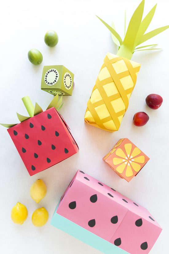 Fruit Wrapping | 25+ Creative Gift Wrap Ideas