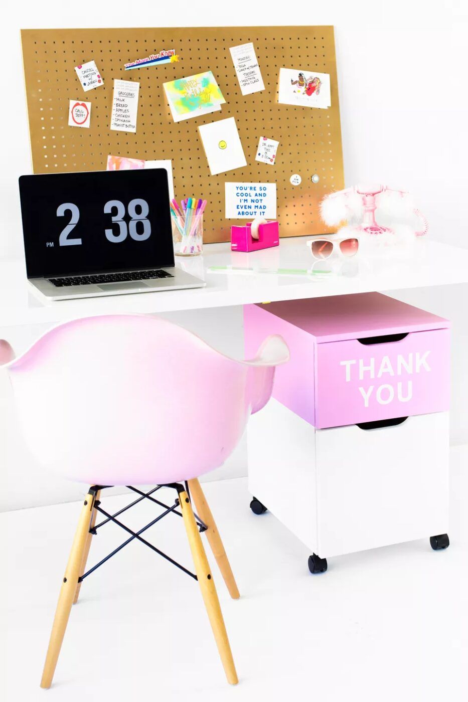 DIY Thank You File Cabinet