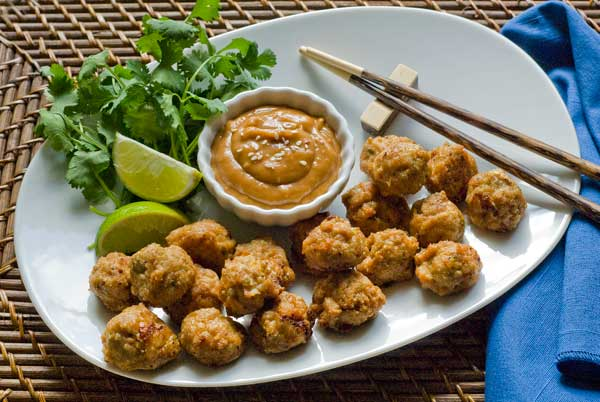 Gluten Free Chicken Meatballs | 25+ gluten and dairy free recipes
