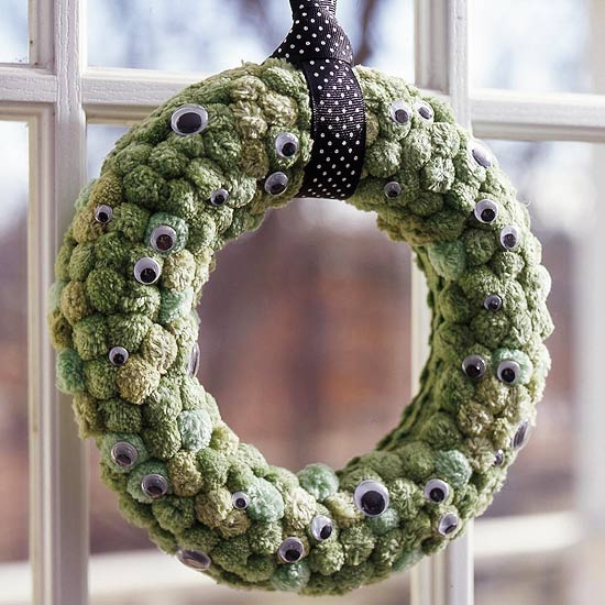 A great collection of 50+ DIY Halloween Wreaths - so many great ideas!