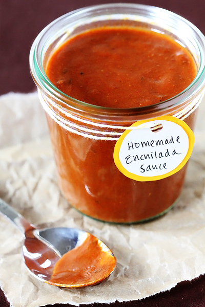 Homemade Enchilada Sauce | 25+ Canning Recipes