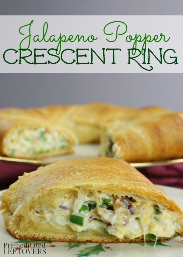 Jalapeno Popper Crescent Ring   25+ Food Party Ring Ideas