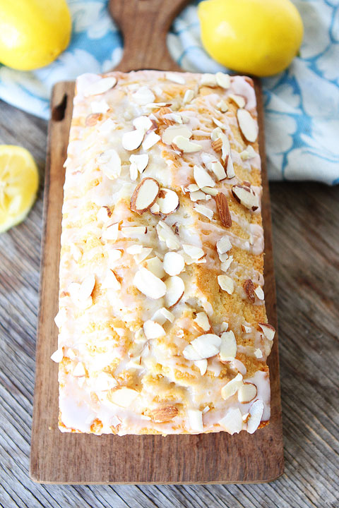 Lemon Almond Bread | 25+ Quick Bread Recipes (No Yeast Required)