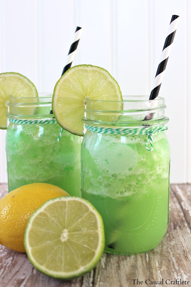 Lemon Lime Sherbet Punch | 25+ Non-Alcoholic Punch Recipes