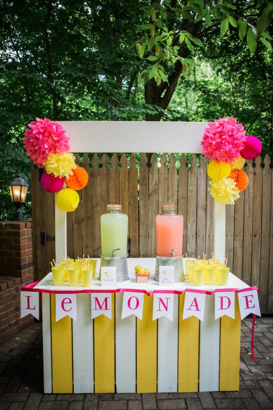 Lemonade Stand | 25+ Lemonade Stand Ideas