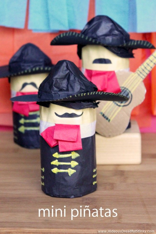 Mini Piñatas | 25+ Cinco de Mayo Ideas