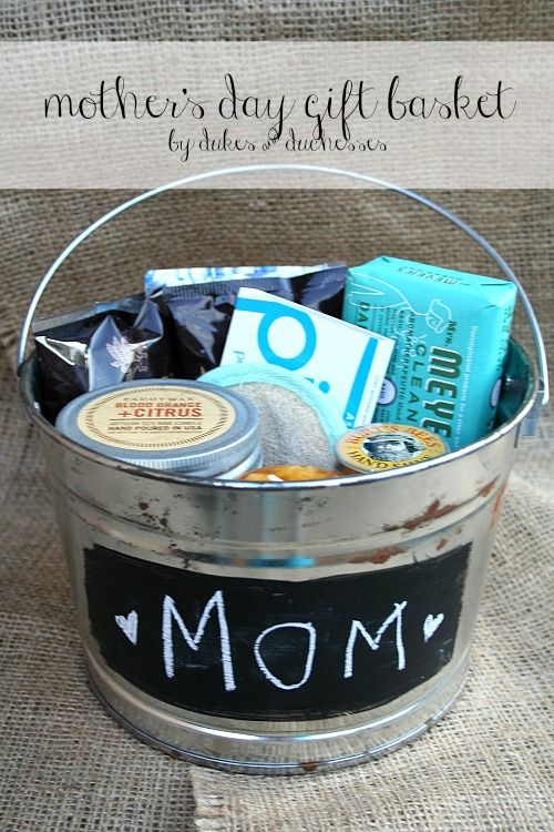 Mother's Day Gift Basket | 25+ Mother's Day Gift Ideas