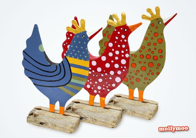 Creative Paper Mache Crafts - Posh Hens New Papier Mache Craft - Easy DIY Ideas for Making Paper Mache Projects - Cool Newspaper and Paper Bag Craft Tips - Recipe for for How To Make Homemade Paper Mashe paste - Halloween Masks and Costume Tutorials - Sculpture, Animals and Ideas for Kids http://diyprojectsforteens.com/paper-mache-crafts