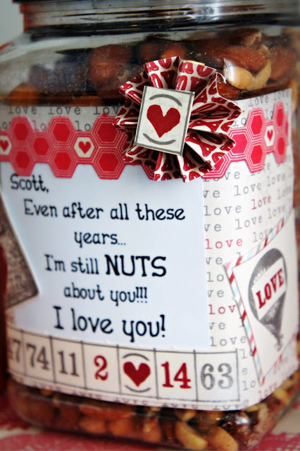 Nuts about you | 25+ Sweet Gifts for Him for Valentine's Day