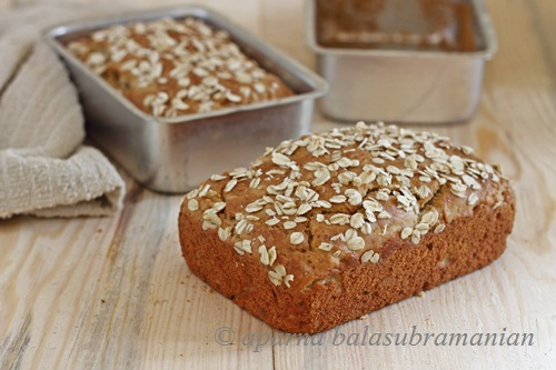 Oatmeal Honey Bread | 25+ Quick Bread Recipes (No Yeast Required)