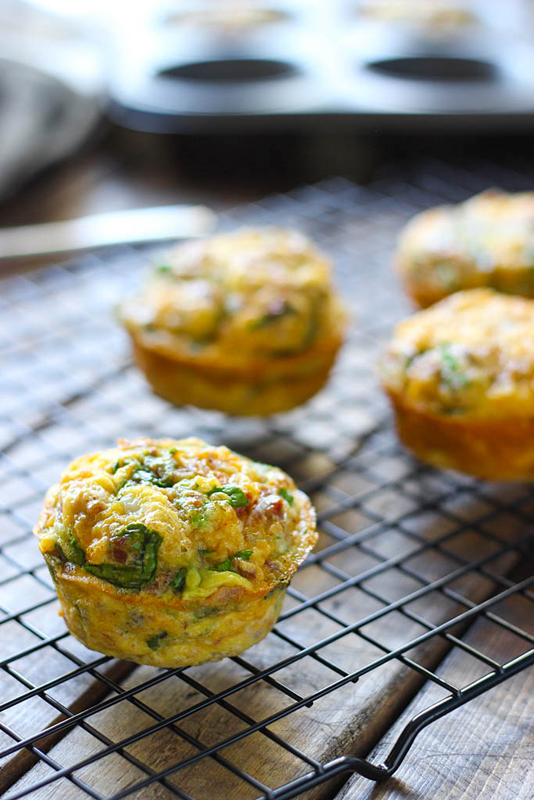On the Go Breakfast Muffins | 25+ Quick/On The Go Breakfast Ideas