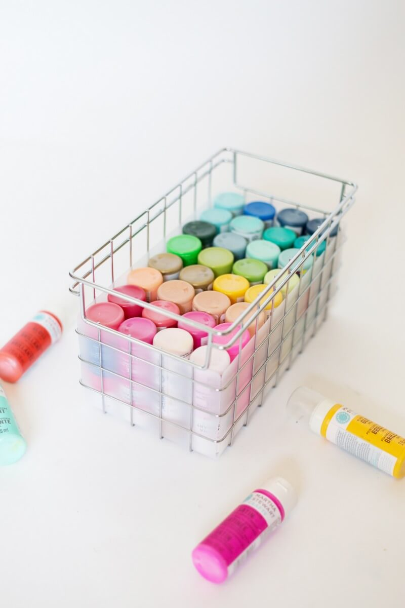 Paint Bottle Storage