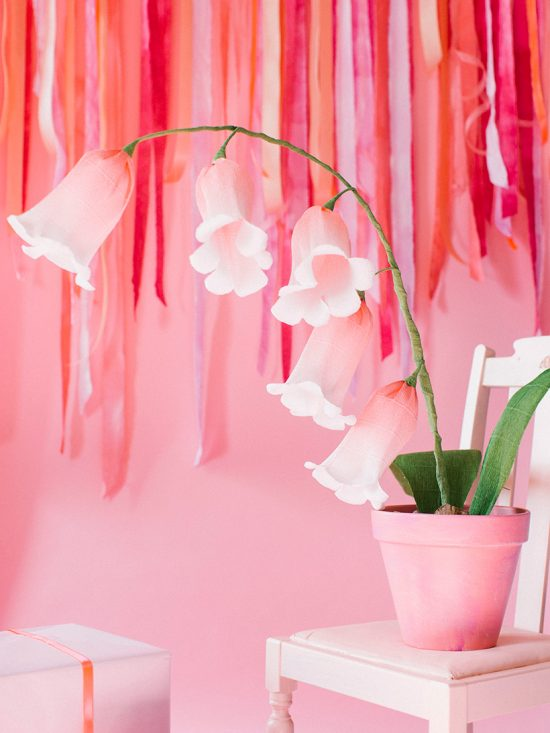 Paper Flower Bells | 25+ MORE Paper Flowers