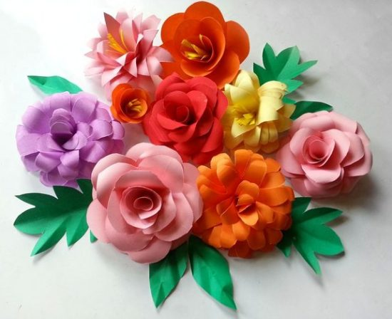 Paper Flower Bouquet | 25+ MORE Paper Flowers