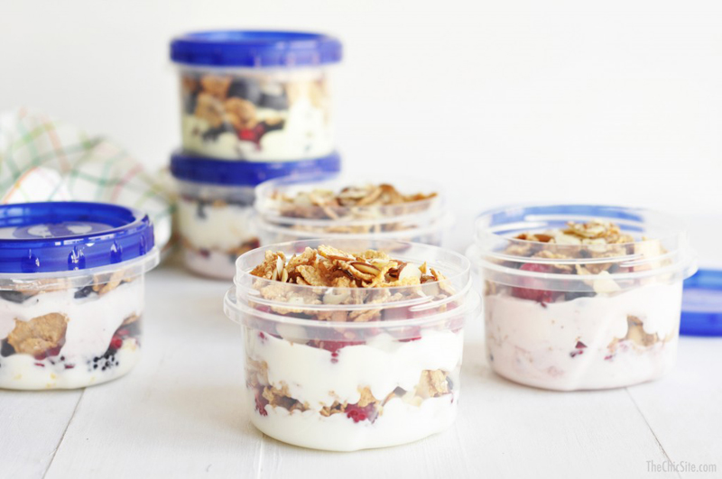 Parfaits to Go | 25+ Quick/On The Go Breakfast Ideas