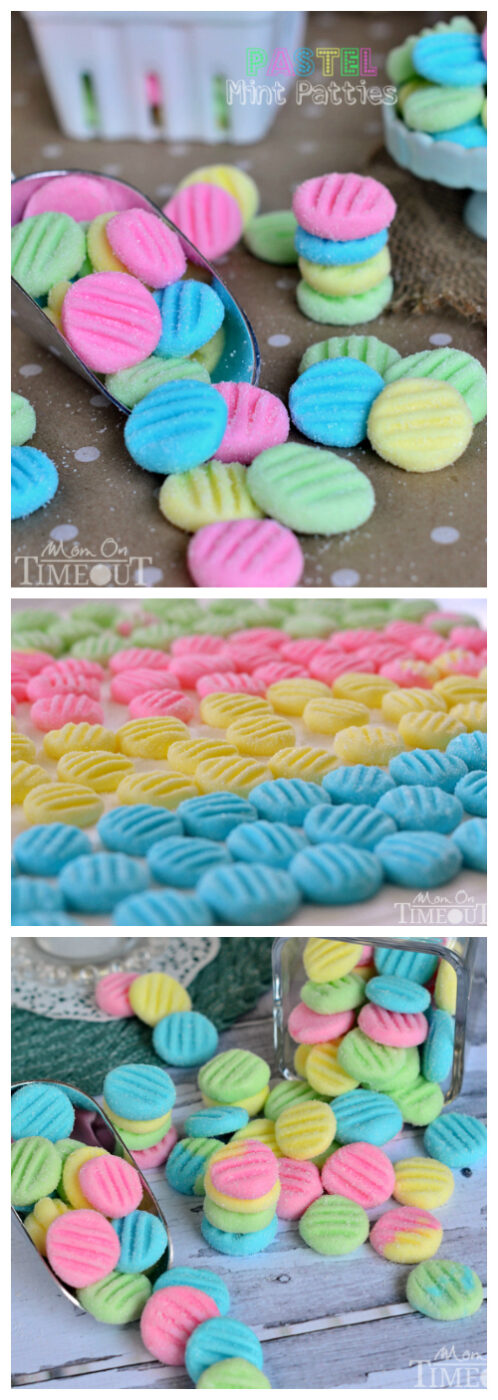 Pastel Mint Patties | 25+ Easter sweet treats