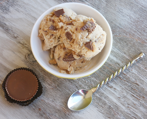 Peanut Butter Cup Ice Cream | 25+ homemade ice cream recipes