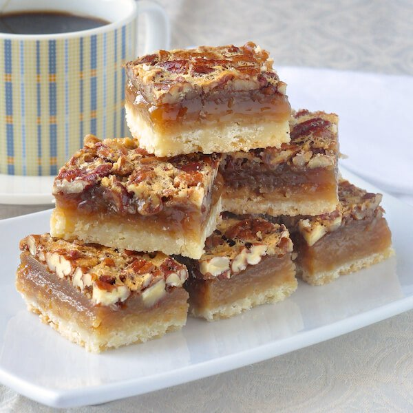 Pecan Pie Bars | 25+ Pecan Recipes