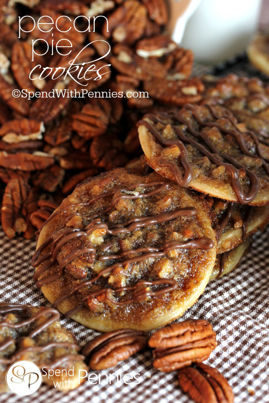 Pecan Pie Cookies | 25+ Pecan Recipes
