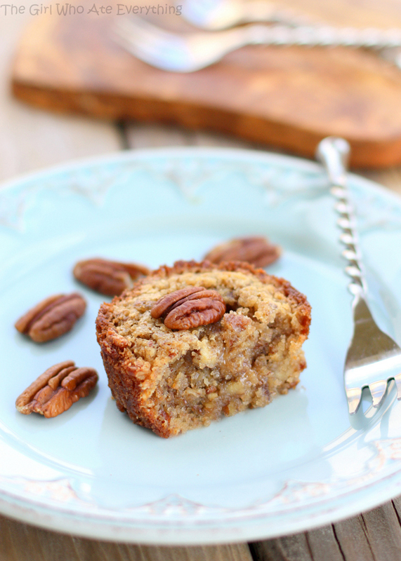 Pecan Pie Muffins | 25+ Pecan Recipes