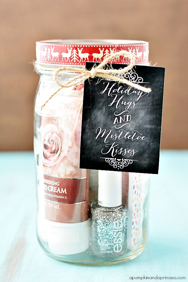 Pedi in a jar - holiday gift