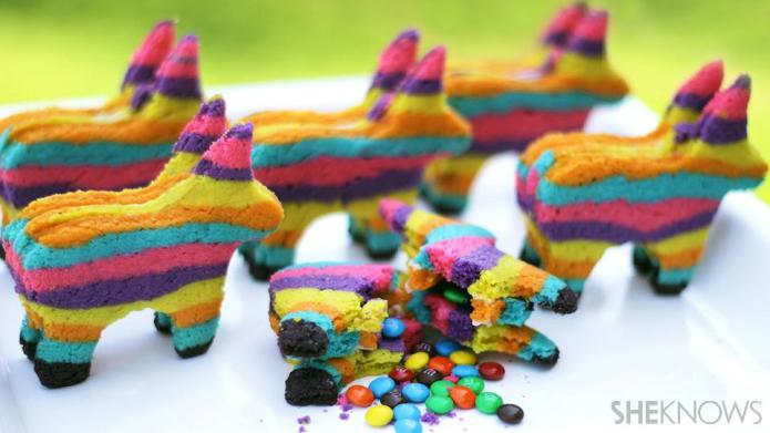 Piñata Sugar Cookies | 25+ Cinco de Mayo Ideas