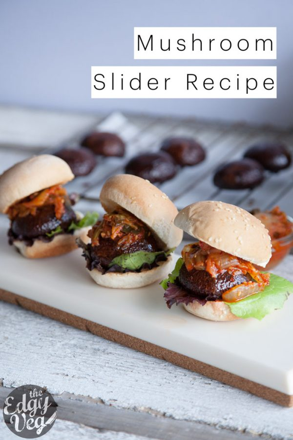 Portobello Mushroom Sliders | 25+ Recipes for Sliders