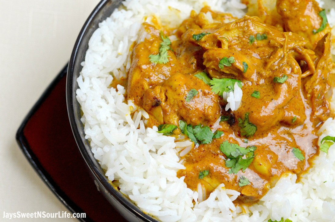 Pressure Cooker Indian Butter Chicken   25+ Savory Instant Pot Recipes