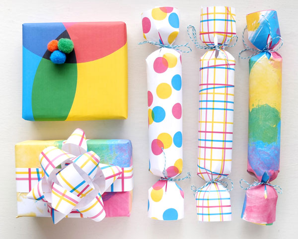 Printable Gift Wrap | 25+ Creative Gift Wrap Ideas