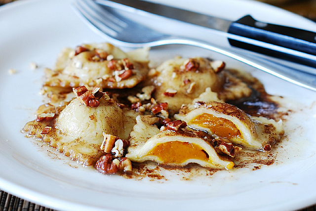 Pumpkin Ravioli | 25+ Pecan Recipes